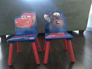 Kids chairs - Cars edition for Sale in Herndon, VA