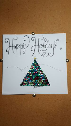 Handmade Holiday card for Sale in Saint Robert, MO