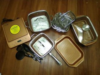 Copper Chef Cookware Set for Sale in Clearwater,  FL