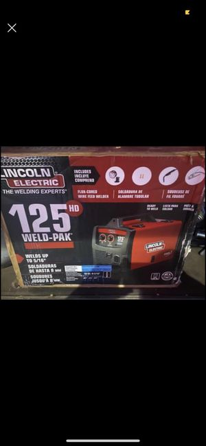 Lincoln welder 125 electric new for Sale in West New York, NJ