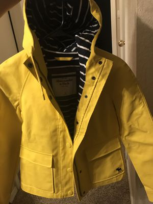 Abercrombie and Fitch women rain jacket for Sale in Henderson, NV