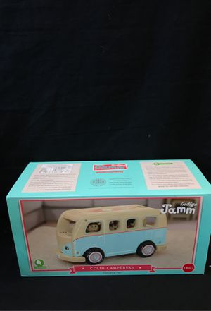 indigo Jamm Colin Camper Van Camping Van Wood Playset. for Sale in Santa Ana, CA
