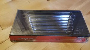 Snap-On OEXM707B 7 Pc set Flank Drive Metric Wrench Set 10mm-15,17mm NEW Sealed for Sale in Kent, WA