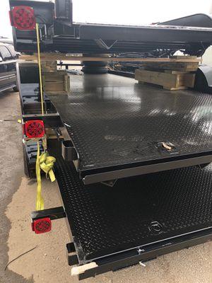 Trailer car trailer car hauler tow trailer dolly equipment trailers dump trailers for Sale in Hialeah, FL