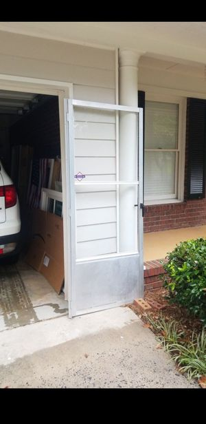 "Storm Door 31""×80"" or 32""x80"" with lip for Sale in Marietta, GA"