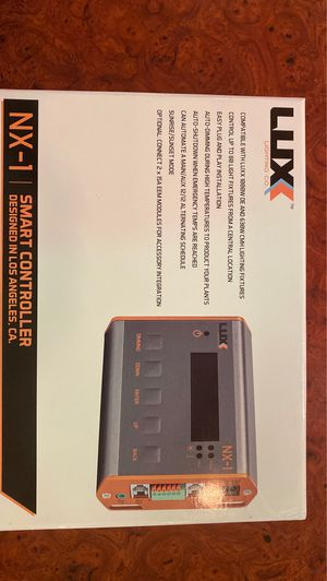 Luxx nx1 controller for Sale in Whittier, CA