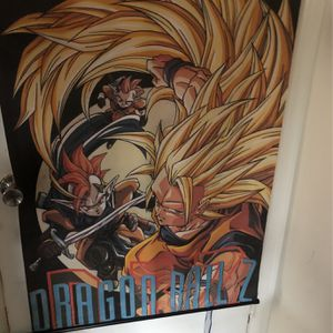 Dragonball Z Wall Scroll Rare for Sale in Torrance, CA