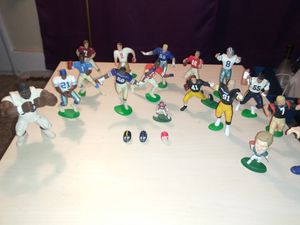 Classic football figure toys *Some antique* for Sale in Stockton, CA