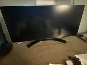 "LG 34"" Monitor for Sale in Brea, CA"