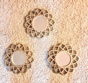 REDUCED PRICE Gold Mirror set of 3 for Sale in Glen Burnie, MD