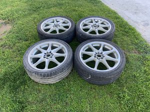 Rims 19's 5 lugs universal 5x114.3 and 5x100 for Sale in Fountain Valley, CA