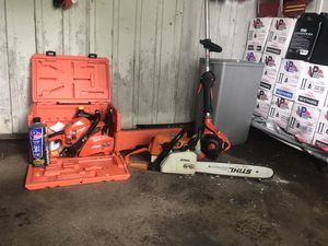 Chain saws for Sale in Bloomington, IL