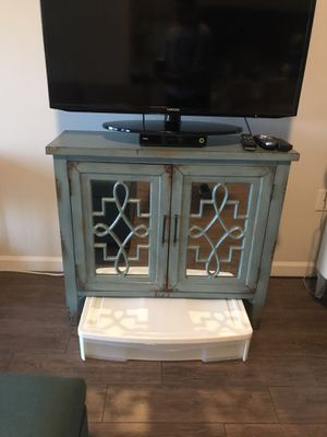Cabinet was amazing storage. Perfect for a small tv!! Selling for $275 for Sale in Miami, FL