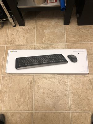 MICROSOFT WIRELESS 850 desktop w/Mouse DELIVERY AVAILABLE LOCALLY! for Sale in San Bruno, CA