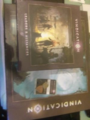 Vindication Board Game and Expansion kit by Orabge Nebula for Sale in New York, NY