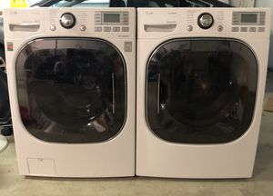 LG True Steam Front Load Washer and Dryer for Sale in Bremerton, WA