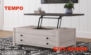 Dorinson Lift Top Coffee Table, Two-tone for Sale in Garden Grove, CA