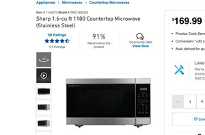 Sharp Microwave for Sale in Seattle, WA