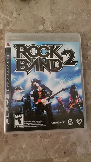 Rock Band 2 PS3 for Sale in Pasadena, CA