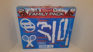 Wii 15 in one Family Pack for Sale in Erie, PA