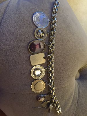 925 Charm Bracelet with Micro-mosaic, and Tiffany charm for Sale in Buford, GA