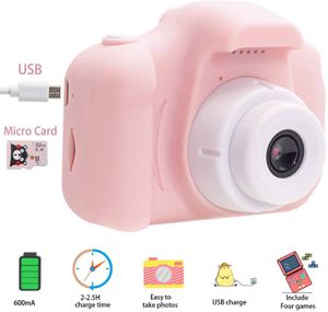 Kids Digital Video Camera, 1080P Kids Video Camcorder with 2 Inch IPS Screen and 32GB SD Card, Choice for Kids 3-10 Years Old Boys and Girls (Pink) for Sale in Upland, CA