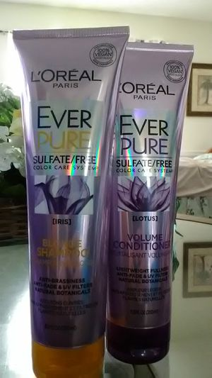 L'OREAL Ever Pure Sulfate/ Free Iris Shampoo & Conditioner for Sale in Frostproof, FL