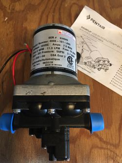shurflo 4008 rv revolution bypass pump for Sale in Yakima,  WA