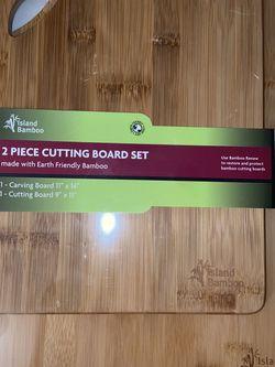 Island Bamboo 2pc. Cutting Board Set for Sale in Long Beach,  CA