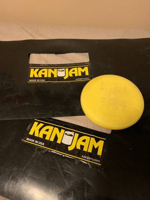 KanJam Set with frisbee for Sale in Hampton, VA