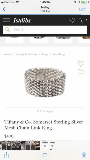 Authentic Tiffany & Co Ring for Sale in Hartford, CT