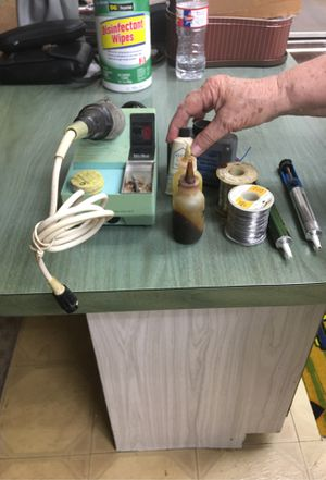 Soldering iron flux and 2 rolls of solder and dodger remover for Sale in Casselberry, FL