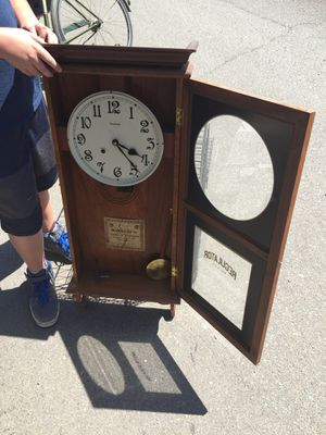 Ansonia Antique Wall Clock for Sale in San Diego, CA