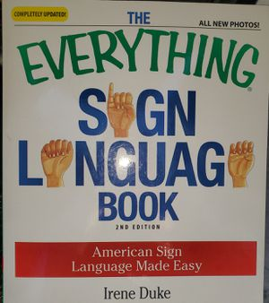 The Everything Sign Language book for Sale in Colton, CA