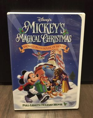 Disney Mickey's Magical Christmas DVD for Sale in Winter Garden, FL