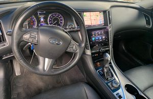 INFINITI Q50 INTERIOR PART OUT! DASHBOARD, RADIO, SHIFTER, CENTER CONSOLE, SEATS, SEATBELTS for Sale in Fort Lauderdale, FL