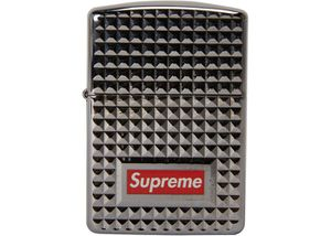 Supreme diamond cut Zippo silver for Sale in Los Angeles, CA