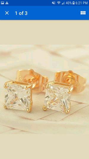 Diamond stud earrings for Sale in Martinsville, VA