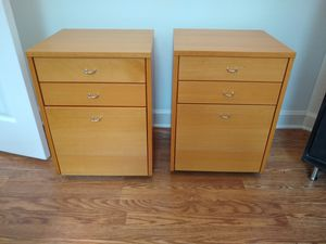 Filing cabinet on wheels - 2 available for Sale in Sarasota, FL