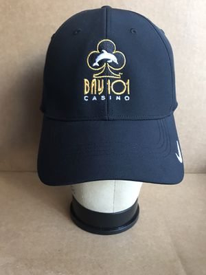 NWT Bay 101 Casino Grand Opening 2017 Nike Golf Black Strap Back Cap Hat for Sale in San Jose, CA