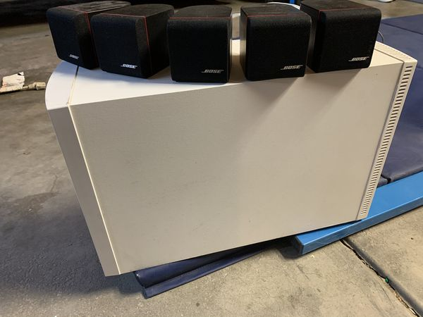 Bose subwoofer and speakers only
