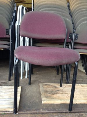 Stackable Industrial Chairs For Banquet, Weddings, Events etc $10 Each Obo Ninety(90) Available for Sale in Clinton, MD