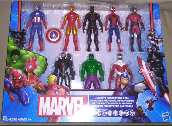 Marvel Avengers 8 Action Figures play toys birthday gift toy