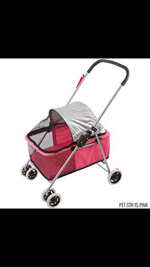 Dog stroller, pink, and for small dog! for Sale in Stockbridge, GA