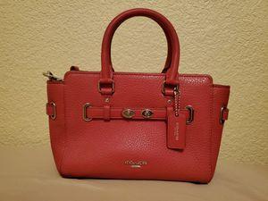 Red Coach Mini Blake Carryall Bag for Sale in Chandler, AZ