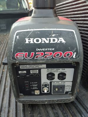 HONDA EU2200i generator Used but still works just as good for Sale in Oakland, CA
