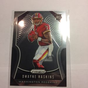 2019 Dwayne Haskins Prizm Rookie! for Sale in Vancouver, WA