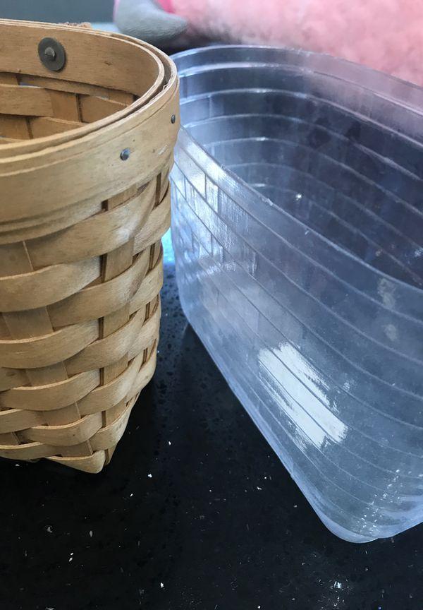 Longaberger Basket with liner