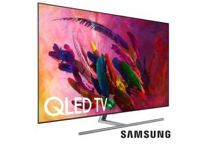 "Samsung Smart 4K Ultra HD TV QLED 55"" for Sale in Los Angeles, CA"
