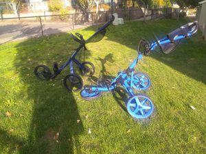 Golf cart sun Mountain speed cart and 3.5 clicgear golf cart for Sale in Auburn, WA